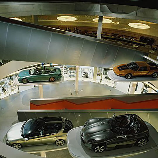Vorschaubild zu Mercedes-Benz Museum Stuttgart