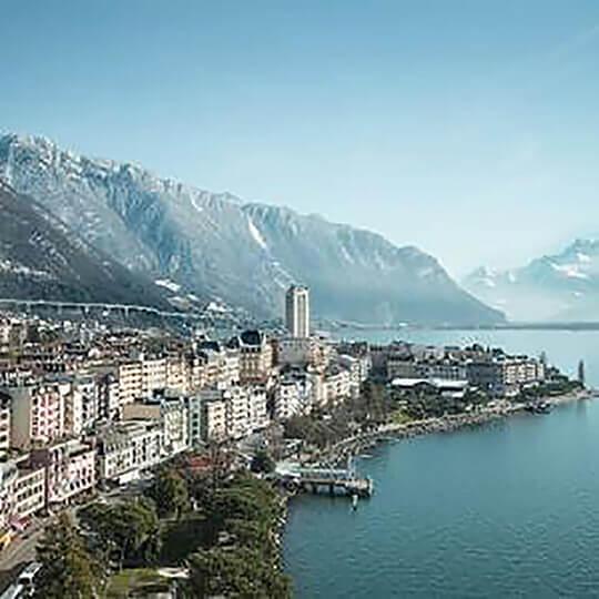 Vorschaubild zu Montreux an der Riviera des Genfersees